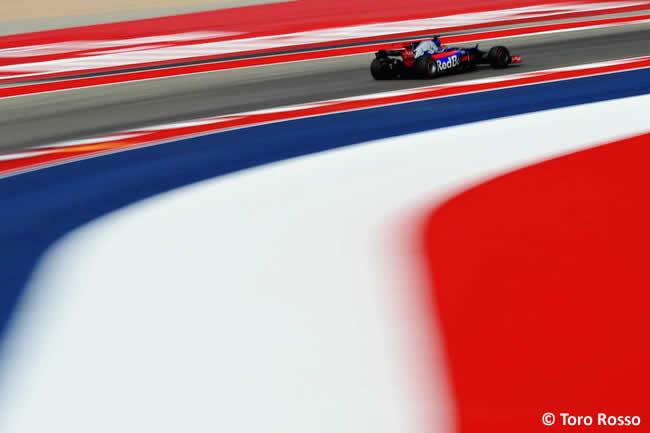 Toro Rosso - Entrenamientos Libres - GP Estados Unidos 2017