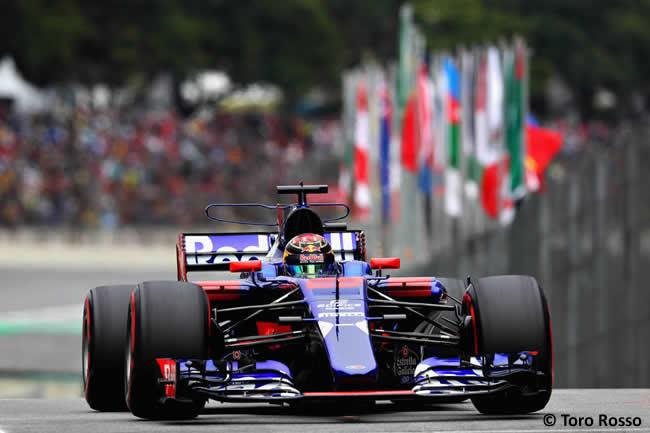 Brendon Hartley - Toro Rosso - Calificación GP Brasil 2017