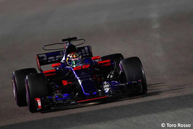 Brendon Hartley - Toro Rosso - GP Abu Dhabi 2017