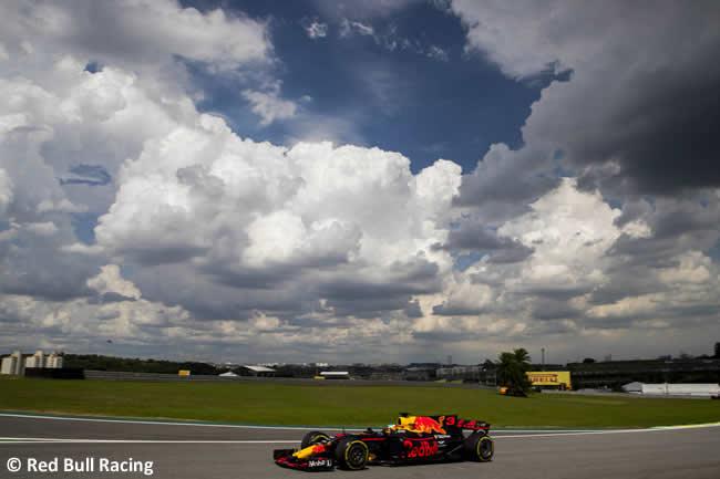 Daniel Ricciardo - Red Bull Racing - Viernes - Entrenamientos GP Brasil 2017