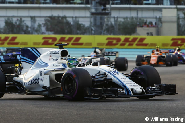 Felipe Massa - Williams - GP Abu Dhabi 2017