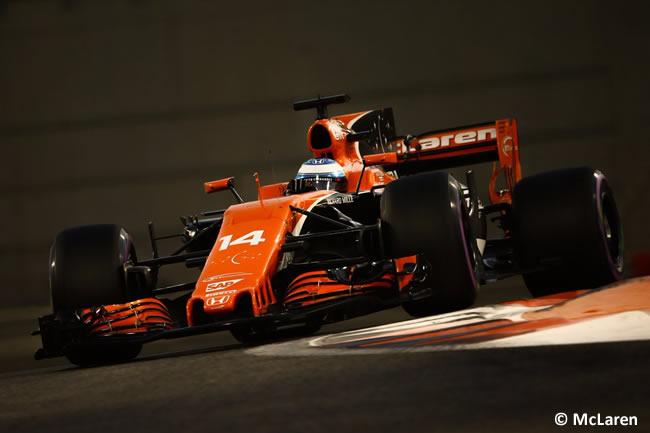 Fernando Alonso - McLaren - GP Abu Dhabi 2017