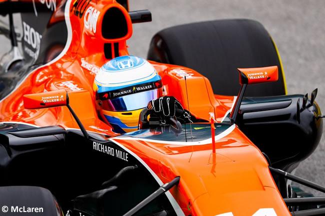 Fernando Alonso - McLaren - Calificación GP Brasil 2017