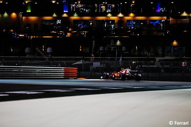 Scuderia Ferrari - Entrenamientos - GP Abu Dhabi 2017