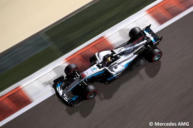 Lewis Hamilton - Mercedes AMG - Entrenamientos - GP Abu Dhabi 2017