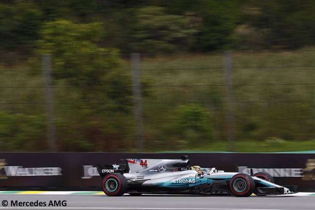 Lewis Hamilton - Mercedes AMG - Viernes - Entrenamientos GP Brasil 2017