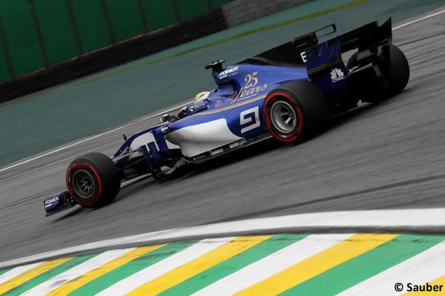 Marcus Ericsson - Sauber - Carrera - GP Brasil 2017