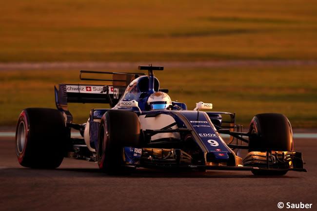 Marcus Ericsson - Sauber - GP Abu Dhabi 2017