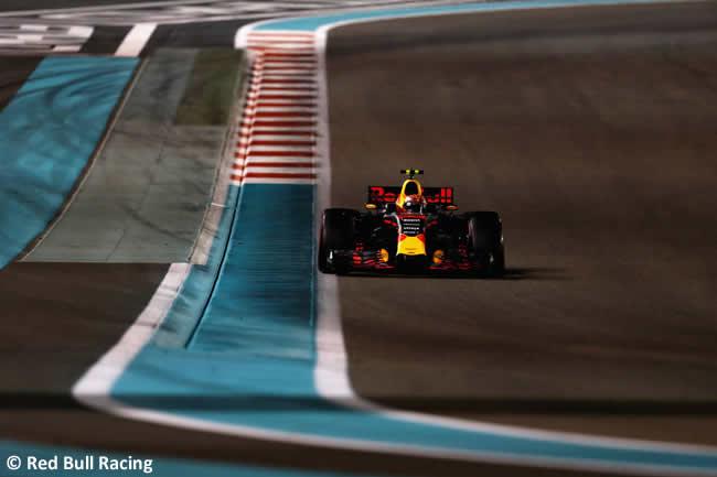 Max Verstappen - Red Bull - GP Abu Dhabi 2017