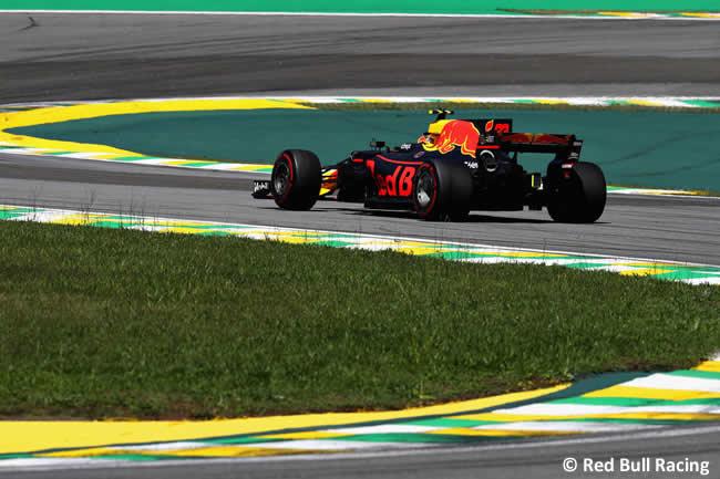 Max Verstappen - Red Bull Racing - Carrera - GP Brasil 2017