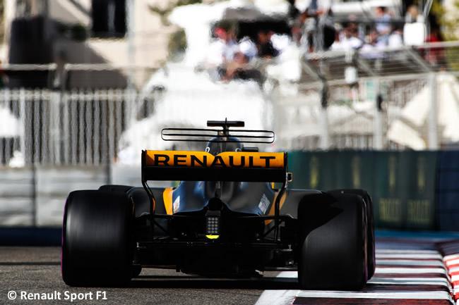 Nico Hulkenberg - Renault - GP Abu Dhabi 2017