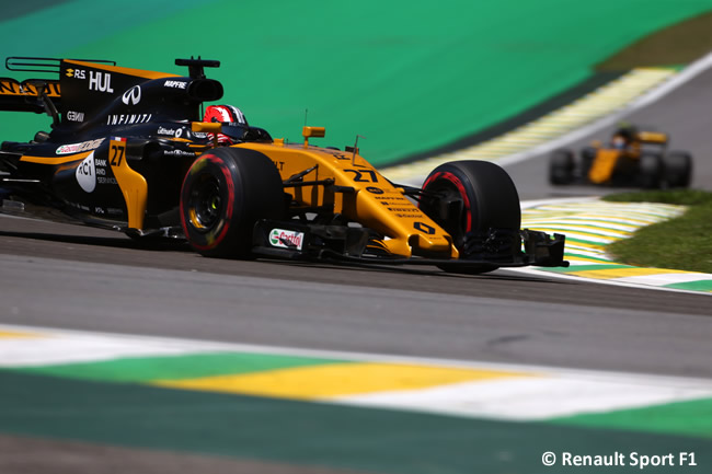 Nico Hulkenberg - Renault - Calificación GP Brasil 2017