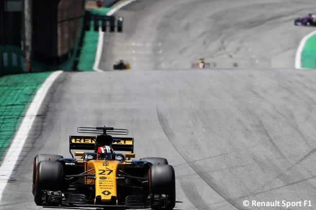 Nico Hulkenberg - Renault - Carrera - GP Brasil 2017