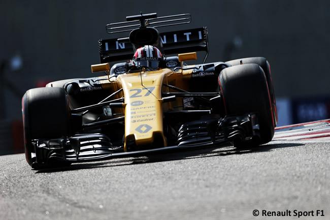 Nico Hulkenberg - Renault - Entrenamientos - GP Abu Dhabi 2017
