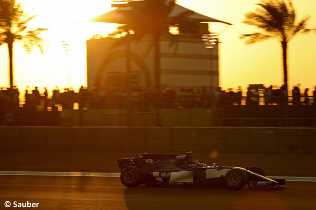 Pascal Wehrlein - Sauber - GP Abu Dhabi 2017