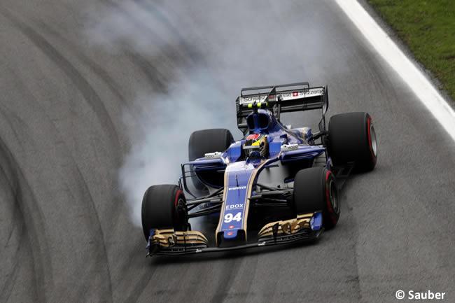 Pascal Wehrlein - Sauber - Calificación GP Brasil 2017