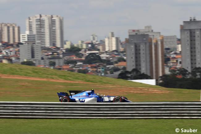 Pascal Wehrlein - Sauber - Viernes - Entrenamientos GP Brasil 2017