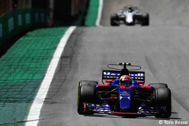 Pierre Gasly - Toro Rosso - Carrera - GP Brasil 2017