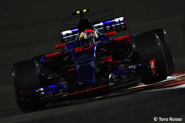 Pierre Gasly - Toro Rosso - Entrenamientos - GP Abu Dhabi 2017