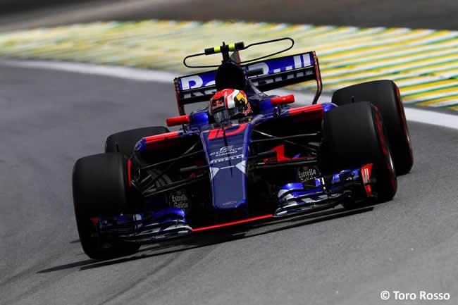 Pierre Gasly - Toro Rosso - Viernes - Entrenamientos GP Brasil 2017