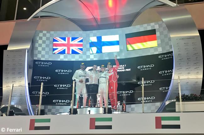 Podio - GP Abu Dhabi 2017
