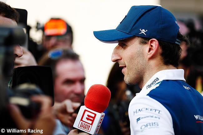 Robert Kubica - Williams - Test Pirelli Abu Dhabi 2017