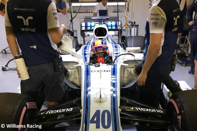 Robert Kubica - Williams - Test Abu Dhabi 2017