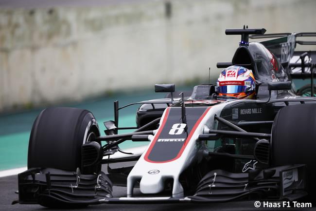 Romain Grosjean - Haas F1 - Calificación GP Brasil 2017
