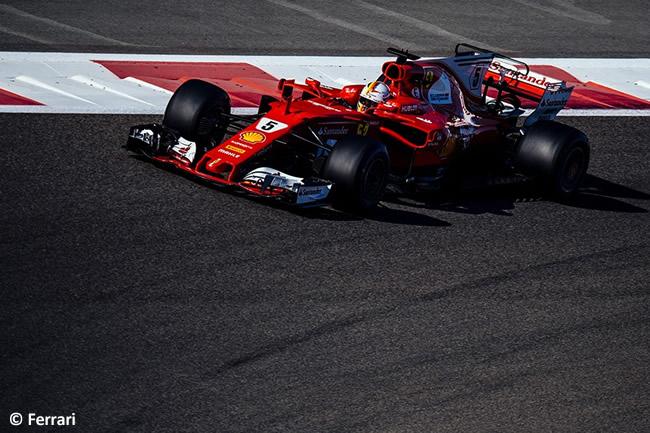 Sebastian Vettel - Scuderia Ferrari - GP Abu Dhabi 2017