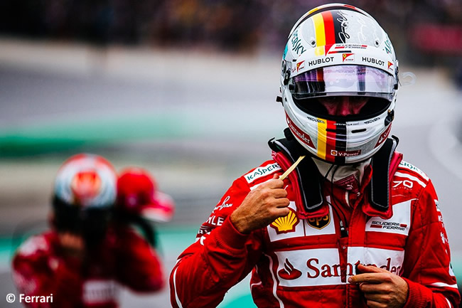 Sebastian Vettel - Scuderia Ferrari - Calificación GP Brasil 2017