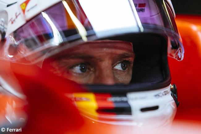 Sebastian Vettel - Scuderia Ferrari - Test Pirelli - Día 2 - Abu Dhabi