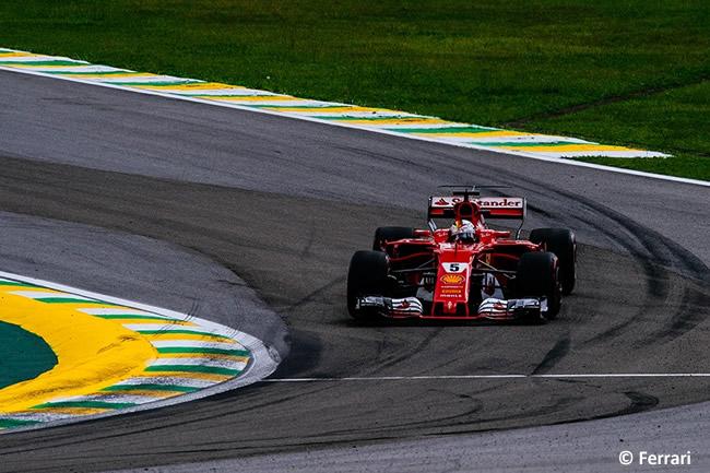 Sebastian Vettel - Scuderia Ferrari - Viernes - Entrenamientos GP Brasil 2017
