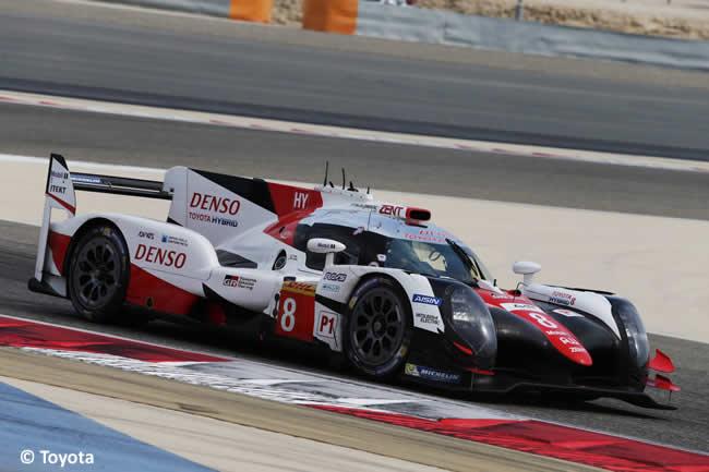 Test Fernando Alonso - Toyota WEC -TS050 HYBRID
