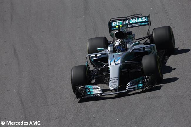 Valtteri Bottas - Mercedes - Calificación GP Brasil 2017