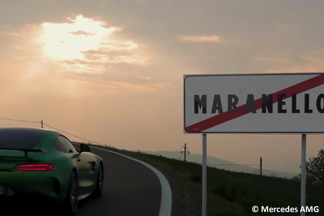 Vídeo - Mercedes AMG - Campeonato 2017 - Scuderia Ferrari