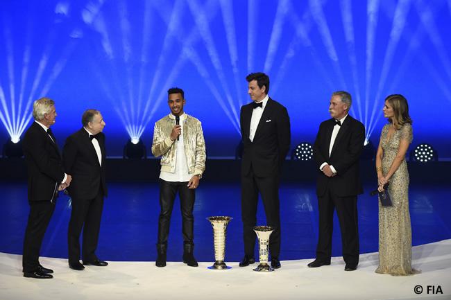 FIA - Ceremonia Premios 2017