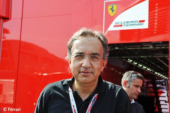 Sergio Marchionne - Presidente Ferrari