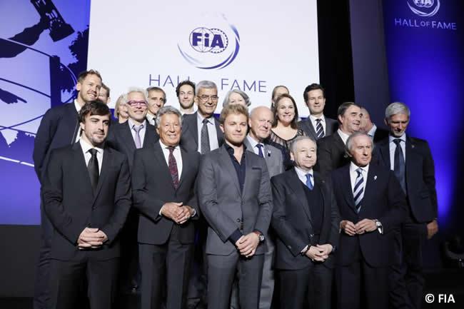 FIA - Presentación Salón de la Fama