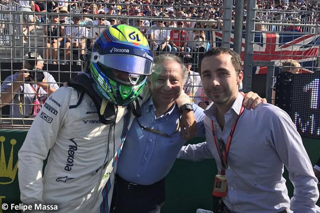 Felipe Massa - Jean Todt - Nicolas Todt