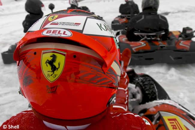 Kimi Raikkonen - Scuderia Ferrari - Hielo Kart - 2018