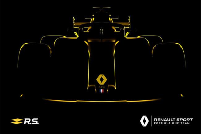 Renault RS18 - 2018 - Presentación