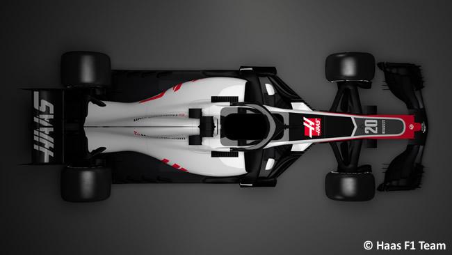 Haas F1 - VF18 - Superior 2018