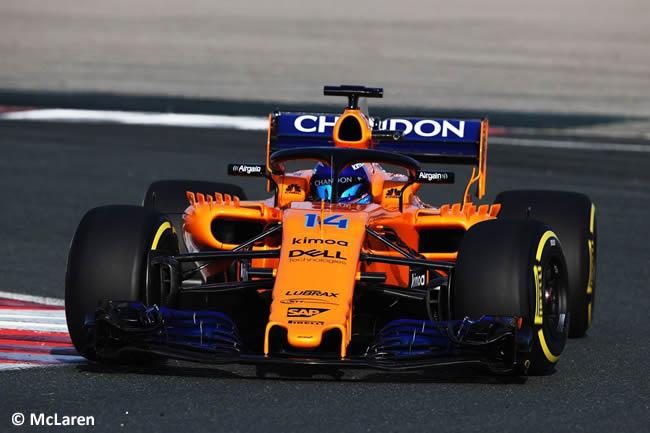 McLaren MCL33 Frontal - Fernando Alonso