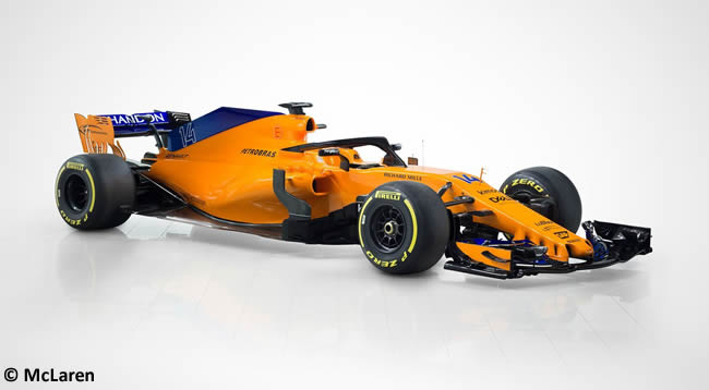 McLaren MCL33 Lateral - Frontal