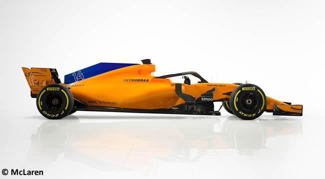 McLaren MCL33 Lateral