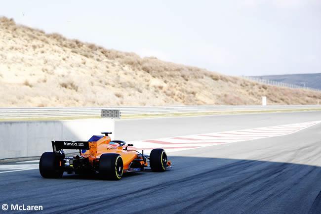 McLaren MCL33 - Trasera