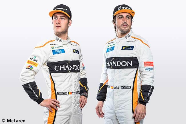 McLaren Fernando Alonso - Stoffel Vandoorne