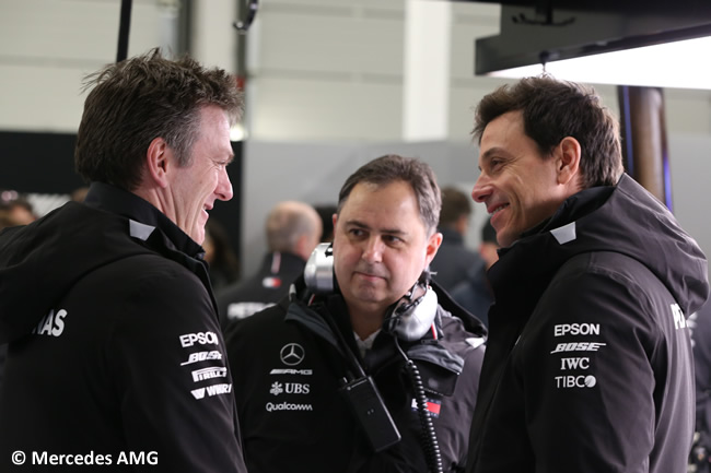 Toto Wolff - James Allison - Mercedes AMG - F1 - 2018