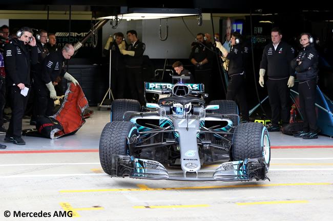 Mercedes AMG - F1 W09 - 2018 - Valtteri Bottas