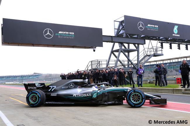 Mercedes AMG - F1 W09 - 2018 -